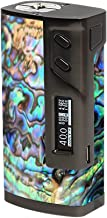 Skin Decal Vinyl Wrap for Sigelei 213W TC Temp Control Vape Mod Skins Stickers Cover / Abalone Swirl Shell Design Blue