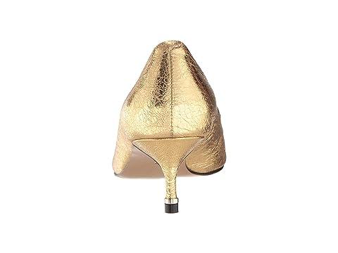 Metallic Black Pump New Leather Riley Kenneth HaircalfYellow 50 York Cole LeatherNatural Gold XBqBOwYvx