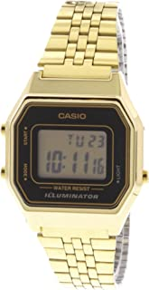 Casio Casual Watch Digital Display Quartz for Women LA680WGA-1D