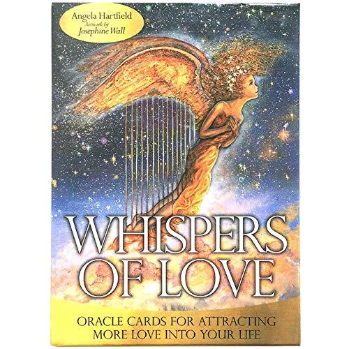 GUOHAPPY Tarocchi: Whispers of Love Oracle: Oracle Cards per Attirare più Amore nella Tua Vita