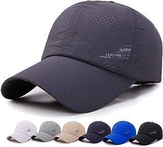 メッシュキャップ, 帽子 メンズ 通気性抜群 日除け UVカット 紫外線対策スポーツ帽子,男女兼用 速乾 軽薄 日よけ野球帽,登山 釣り ゴルフ 運転 アウトドアなどにメッシュ帽