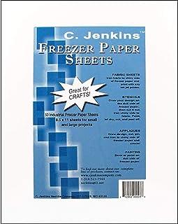 C. Jenkins 50 hojas de papel para congelador industrial 8.5