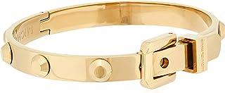 Michael Kors Gold-Tone Astor Stud Hinge Bangle Bracelet