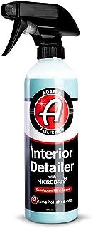 جزئیات داخلی آدامز 16oz - سطوح داخلی تمیز و لباس را در یک مرحله آسان انجام دهید - Neutralizer بو باعث بوی ناخواسته می شود - فرمول ضد استاتیک محافظت اشعه ماوراء بنفش را به فضای داخلی شما می افزاید