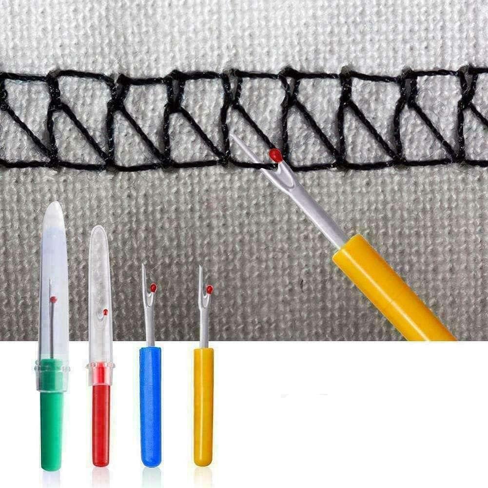 AliNature Creative Plastic Handle Seam Stitch Ripper Unpicker To