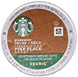 Starbucks Decaf Pike Place Roast, K-Cup for Keurig...
