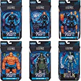Get things off to a good start by picking up the Fantastic Four Marvel Legends 6-Inch Action Figures case! Each 6-inch action figure is loaded with articulation and is ready to make a splash with fans of all ages. Includes build-a-figure piece of Sup...