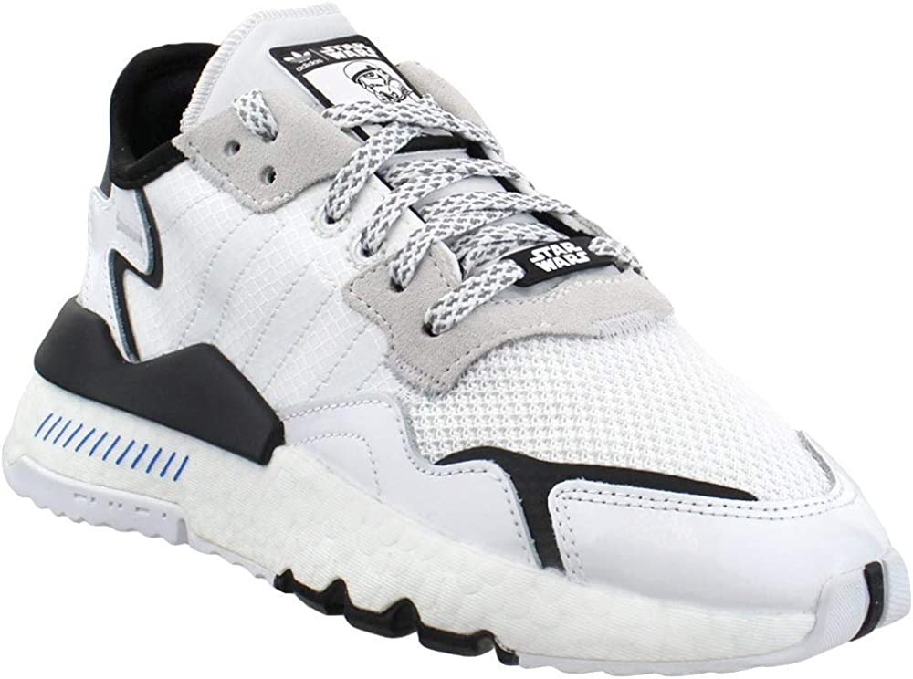 Escultura rock Contar  Amazon.com | adidas Boys Nite Jogger x Star Wars Lace Up Sneakers Big Kids  Casual Sneakers, | Sneakers