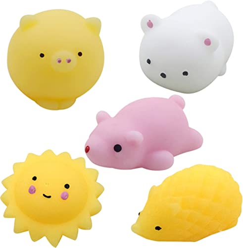 wholesale Sensory Fidget Toys Set Mini high quality Cute Animal Squeeze Toys Sensory Toys Pack Mini Figetget Toys Stress Relief and Anti-Anxiety Toys for Kids Adults, ADHD Autism Squeezy and Bouncy Stress Toy Set popular of 5 online sale
