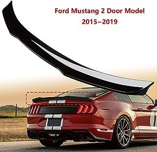 HYNB ABS Spoiler Car Rear Spoiler Rear Wing Spoiler for Ford Mustang 2 Door Model 2015~2019