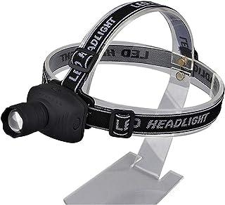 headlamp Headlamp Light Head Flashlight Door Frontal Lanterna Led Bulbs Q5 Z10 Right Mini Zoom Durable (Body Color : Black)