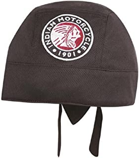 Indian Motorcycle Black Icon Head Wrap