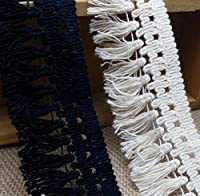 3 Meters Cotton Fringe Lace Trim DIY Craft for Clothing Apparel Sewing Accessories Design Tassel Lace Fabric Ribbon