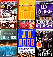 6 Books by J.D. Robb in Death series (Imitation in Death, Memory in Death, Glory In Death, Divided in Death, Celebrity in ...