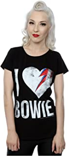 Mujer I Love Bowie Camiseta