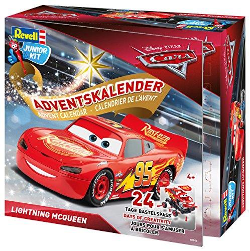 Disney Cars 3 - Revell Junior Kit CARS3 - Adventskalender