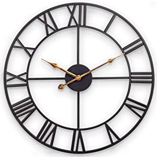 Best large wall clocks black Reviews