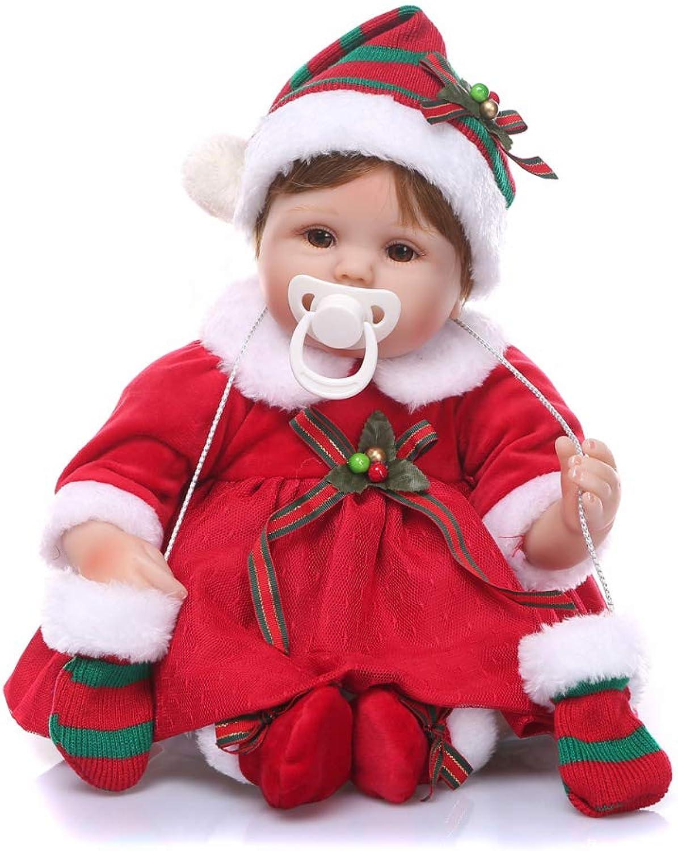 YIHANGG Simulationspuppe Neugeborene Babypuppen 16 Zoll 40cm Realistische Handgefertigte Weiche Baby-Puppe Aus Silikon Lebensecht Augen Offen Magnetischer Mund Mädchen-Lieblings Babypuppen B07M73BLX7 Geeignet für Farbe  | Sehr gelobt und vom Publikum