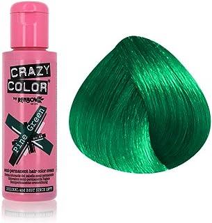 Crazy Color Semi Permanent Hair Dye - Green