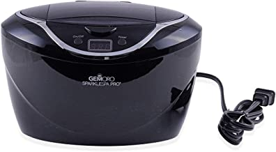 GEMORO Sparkle Spa Pro: Deluxe Personal Ultrasonic Jewelry Cleaner