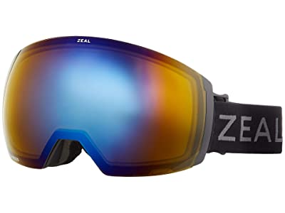 Zeal Optics Portal XL (Dark Night w/ Polarized Bluebird HT + Persimmon Sky Blue Lens) Goggles