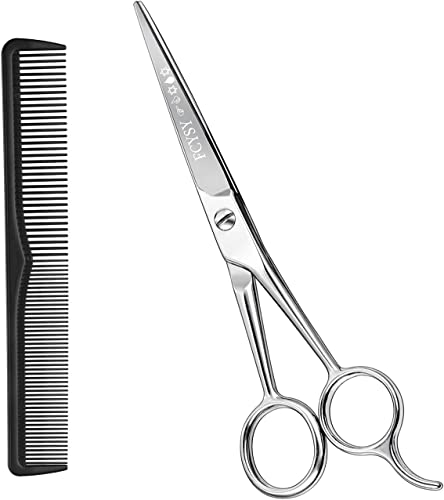 """wholesale Hair Cutting online sale Scissors Hair Shears- Fcysy 6""""Professional sale Barber Sharp Hair Scissors Hairdressing Shears Sizzors Sheers Scissors Hair Comb Included for Women Men online sale"""