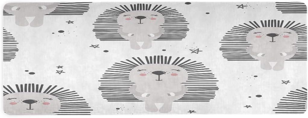 Qilmy Happy Hedgehogs Indianapolis Mall Yoga Mat Non Thin Slip Eco ...