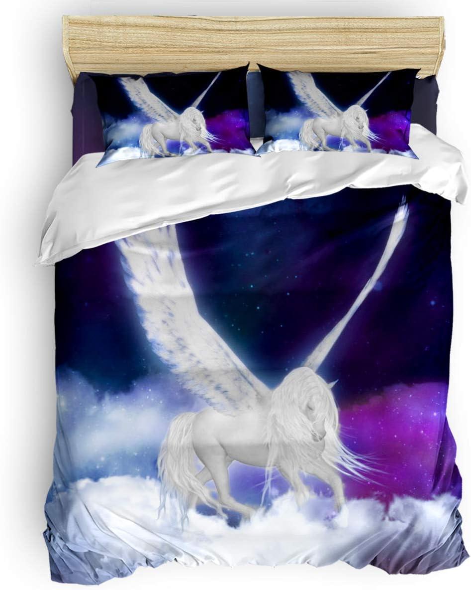 Infinidesign Pegasus 4 Pieces Comforter Superior Financial sales sale Cover Sets Duvet