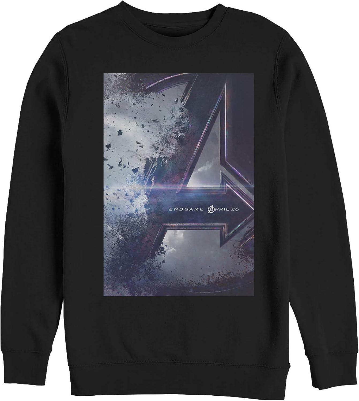 Men's Marvel Avengers: Endgame Movie Poster Sweatshirt - Black - 3X Large