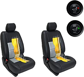 Drake Off Road Universal Retrofit Insert Carbon Fiber Car Seat Heated Kit for 2 Seats