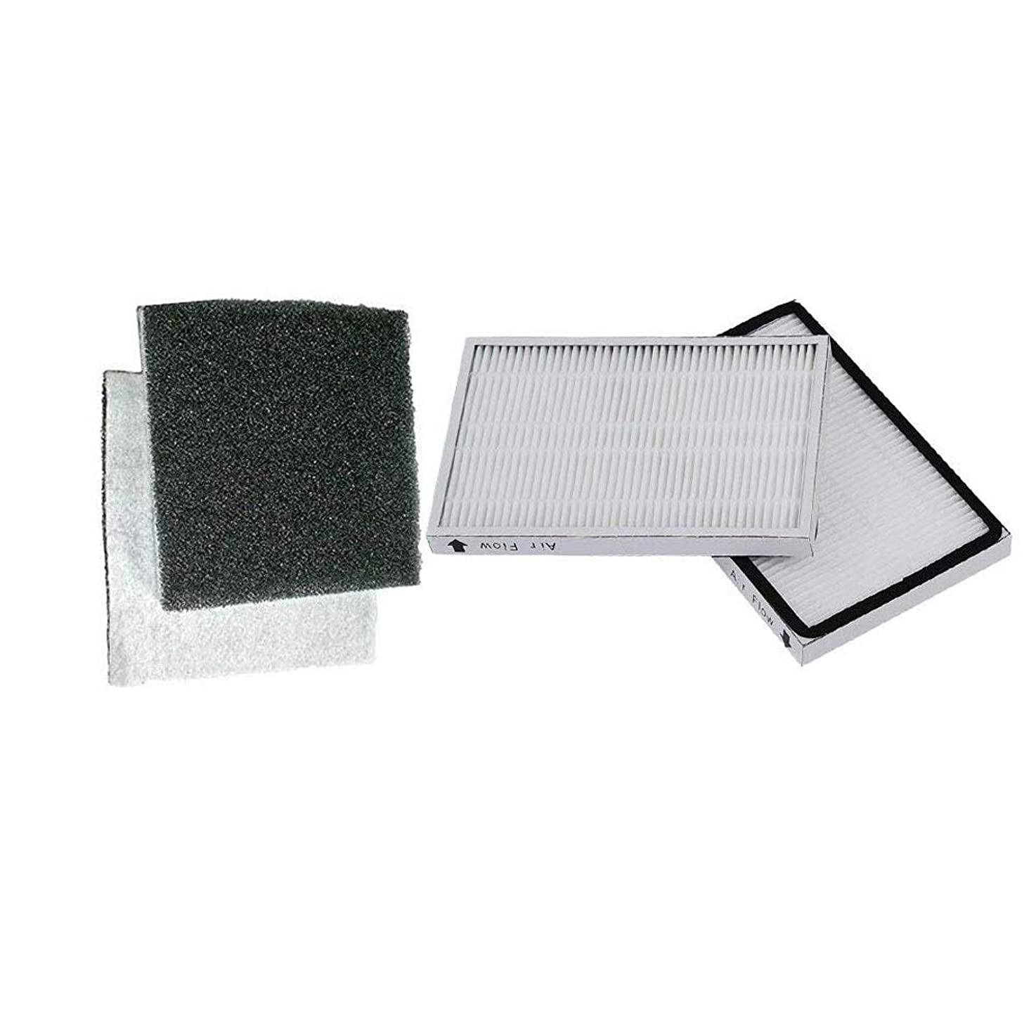 SaferCCTV 2pcs Replacement 86889 Hepa Filters with Foam Filters for Sears Kenmore EF-1 Vacuums
