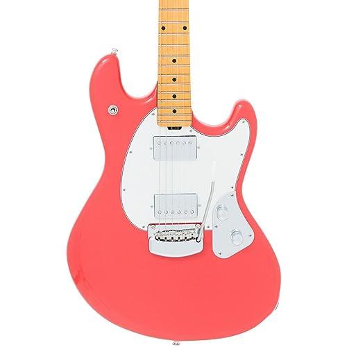 de67b2fc480 Ernie Ball Music Man StingRay Guitar - Coral Red