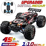 Upgraded Metal 1:10 Scale 45km/h RC Truck 4WD...