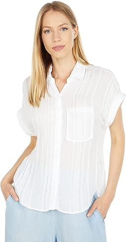 Short Sleeve Pocket Button Down