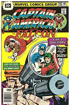 Unknown Binding Captain America and the Falcon #198 (Captain America's Love Story) Book