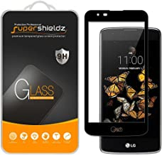 Supershieldz for LG Treasure LTE Tempered Glass Screen Protector, (Full Cover) (3D Curved Glass) Anti Scratch, Bubble Free (Black)