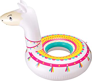 Llama Pool Float Ride On Party Toys Alpaca Inflatable Swimming Ring Fiesta Water Supplies for Adults or Kids