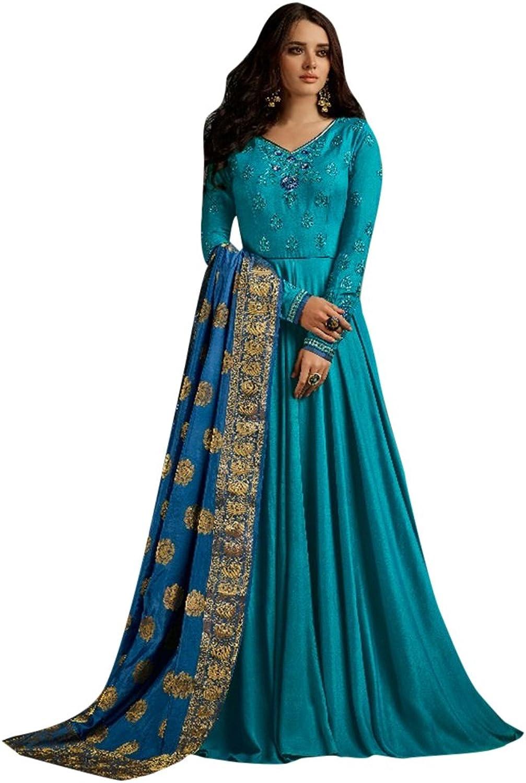 Bollywood Collection Pakistani Anarkali Salwar Suit Bridal Wedding Ceremony Punjabi Muslin Eid 798 5