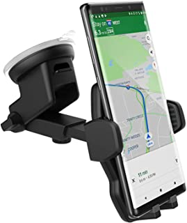 Galaxy Note 8 Car Mount, Fully Adjustable (Case Friendly) Vehicle Dock, Windshield & Dashboard Compatible (by Encased)