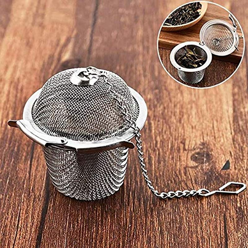 Tea Infuser Bag Stainless Steel Pot Infuser Sphere Strainer Handle Tea Ball Filter Herb Spice Diffuser Tea Tools