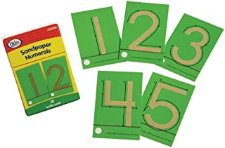 Didax Educational Resources 210828 Sandpaper Numerals 4-5/16 L x 2-3/4 W in