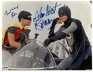 Adam West/Burt Ward Signed Batman Authentic Autographed 11x14 Photo PSA/DNA #B20121
