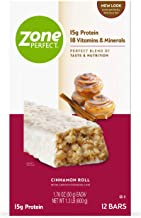 Zone Perfect All-Natural Nutrition Bars Cinammon Roll 12 ea Cinnamon Roll 12 Count Estimated Price : £ 24,94