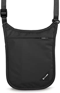 Pacsafe PS10139100 Neck Pouch, Black, One Size