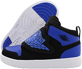 Nike Jordan Kids Air Jordan Spike Forty Gg Blk//White//Rflct Slvr//Sprt Fchs Basketball Shoe 6 Kids US