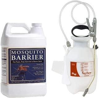 Mosquito Barrier Liquid Mosquito Repellent (1 Gallon) with Chapin Sprayer (1 Gallon)