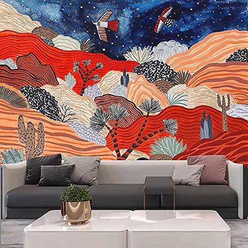 Tapiz decoración del hogar brujería Hippie tapiz de encaje decoración bohemia tapiz de pared tela colgante A2 180x200cm