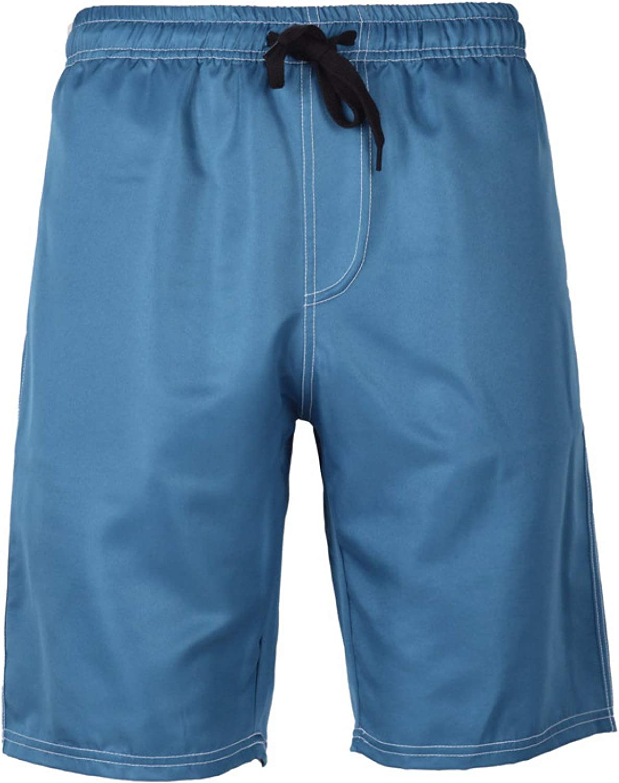 Segindy Men's Fashion Trend Shorts Summer Breathable Casual Draw