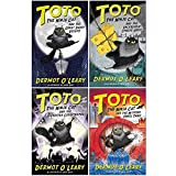 The Toto the Ninja Cat Series 4 Books Collection Set By Dermot O'Leary ( the Great Snake Escape, the Incredible Cheese Heist, the Superstar Catastrophe, the Mystery Jewel Thief)