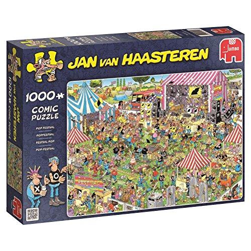 Jumbo Spiele 19028 - Jan Van Haasteren Pop Festival, 1000 Teile
